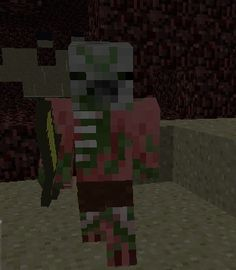 How To get zombie pigmen in minecraft pocket edition : (actual pic from my world ) Ok you set up your nether reactor and when the cobblestone turns red mine it quick with a diamond pick axe and like 3 zombie pigmen will show up so quickly either gather your materials or just leave
