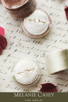 Presentation is everything. These handcrafted ring boxes are made from antique velvet, and each iteration is unique. Get yours while you still can! Velvet Ring Box, Ring Boxes, Little Boxes, Vintage Inspired, Presentation, Fine Jewelry, Engagement Rings, Antique, Handmade