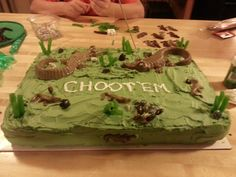 Swamp people party cake