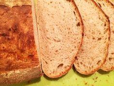 Pšenično celoražný, bez rozkvasu – Krhlovci Bread, Food, Brot, Essen, Baking, Meals, Breads, Buns, Yemek