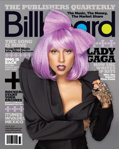 Lady Gaga is one of the most extraordinary celebrity nowadays also with her hair style.Check out 10 Most Different Hairstyles From Lady Gaga Sin City 2, Lady Gaga Billboard, Top Billboard, Joanne Lady Gaga, Lady Gaga Hair, Magazin Covers, Billboard Magazine, Lavender Hair, Thing 1
