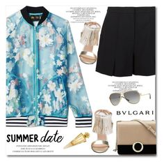 """""""Summer date"""" by gifra ❤ liked on Polyvore featuring adidas Originals, T By Alexander Wang, Bulgari and Jivago"""