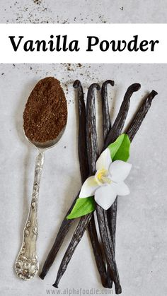 DIY: How to make Vanilla Powder Vanilla Paste, Vanilla Flavoring, Vanilla Beans, Cinnamon Cream Cheese Frosting, Cinnamon Cream Cheeses, Bread Spread Recipe, Magnum Ice Cream, Vegan Tarts, Spiced Coffee