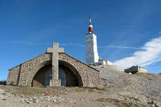 Picture of Chapel and aerial of Mount Ventoux,Vaucluse, France stock photo, images and stock photography. Provence, Chapelle, France, Picture Design, Cn Tower, Tours, Earth, Stock Photos, World