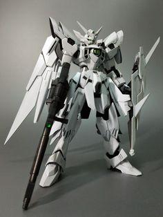 HG 1/144 Gundam Fenice Rinascita ~Penna Bianca~ - Painted Build