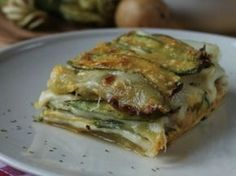 It is known: the day after is even better…but parmigiana is always parmgiana! Zucchini parmigiana is perfect for any occasion, to serve as starter, first. Bakery Recipes, Dessert Recipes, Cooking Recipes, Healthy Recipes, Desserts, Veggie Dishes, Tasty Dishes, Cena Light, Best Italian Recipes
