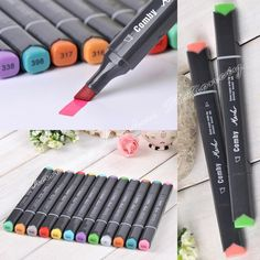 41.00$  Buy here - http://alijzc.shopchina.info/go.php?t=32431623020 - 36/48/60/72 P Colors Architectural Design Marker Pen Comby800 commonly used Sketch marker copic markers 41.00$ #buyininternet