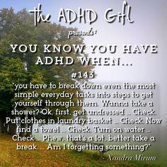 Do I Have Adhd, Inattentive Adhd, Bardot Bangs, Adhd Facts, Adhd Funny, Adhd Signs, Mental Break, Adhd Help, Adhd Brain