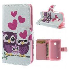Lumia 530 pöllöt puhelinlompakko Wallet, Handmade Purses, Purses, Diy Wallet, Purse