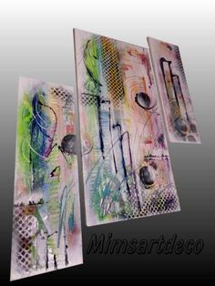 Tableau abstrait coloré Home Deco, Painting, Diy, Modern Paintings, Acrylic Paintings, Wall Art, Bricolage, Painting Art, Paintings