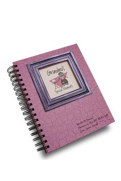 Help remember all of life's journeys with this easy to fill-in format. Each of our journals is complete with thoughtful prompts true to the Journals Unlimited style.All of Grandma's memories are special to the whole family! This uniquely designed journal gives Grandma a place to write about activities together, highlights of the day, things we learned, and words of wisdom.    Measures: 9.1 x 7.9 x 1.1 inches   Grandma Journal by Journals Unlimited. Home & Gifts - Gifts - Stationery & Office…