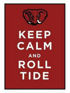 It's hard to keep calm watching the tide roll.