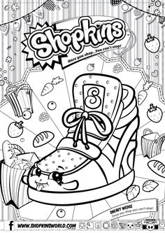 Printable Coloring Pages of Shopkins - Yahoo Image Search Results