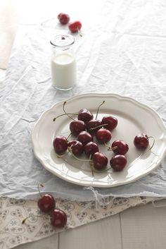 cherries. by panpepato senza pepe.