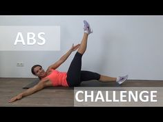 Abs Challenge Workout – A Tough Burning Ab Challenge - YouTube