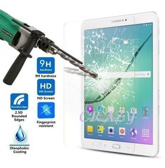 Tempered Glass Screen Protector for Samsung Galaxy Tab S2 T815 9.7  / T715 8