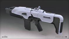 ArtStation - Destiny - The Taken King - Suros Auto Rifle, Mark Van Haitsma