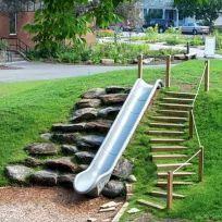 Creative and Cute Backyard Garden Playground for Kids (6)