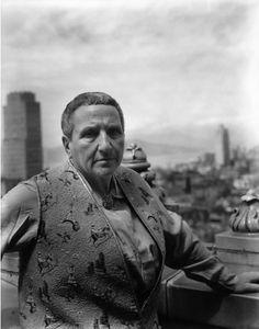 Gertrude Stein by Imogen Cunningham, San Francisco, 1935