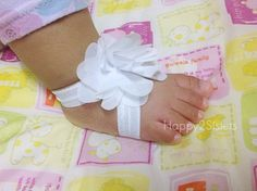 Bare foot Baby Sandals  Baby Barefoot Sandals  by Happy2sisters, $8.00