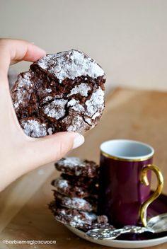 Barbie Magica Cuoca - blog di cucina: Biscotti morbidi alle mandorle con cioccolato fondente
