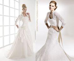 Cabelo Beleza e Saúde: Modelos de vestidos de noiva 2012