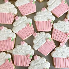 Super baby shower cookies royal icing shabby chic ideas - Welcome to our website, We hope you are satisfied with the content we offer. Super Cookies, Fancy Cookies, Valentine Cookies, Iced Cookies, Birthday Cupcakes, Cake Cookies, Valentines, Sugar Cookie Royal Icing, Cupcake Icing