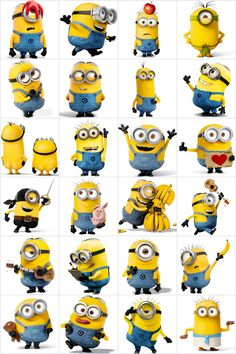 Free printable memory game with the minions. Many other printable memory. - Free printable memory game with the minions. Many other printable memory. Simply print and cut to make yourself an original memory game for play at home! Minions Birthday Theme, Minion Theme, Minion Party Games, Memory Games For Kids, Games For Teens, Minions Despicable Me, Minions Bob, The Minions, Minion Classroom