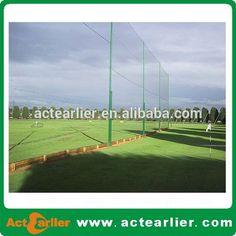 black PE polyethylene polyester football soccer golf volleyball fielding net #backyard_mini_golf, #outdoor