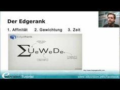 Facebook EdgeRank- Tutorial via @edutainment