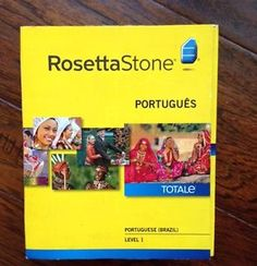 Rosetta Stone Portuguese Brazil Level 1 Version 4 Software | eBay