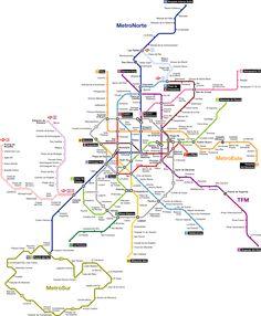 #U-Bahn #Madrid eröffnete ihre erste Linie am 17. Oktober, 1919, während der Tagen vom König Alfonso XIII, als eine Metropole Stadtbahn. Sie hat eine einzige 3,48km lange Linie, die 8 Stationen diente, indem sie Puerta del Sol to Cuarto mit Cuatro Camins verbindete, mit einer Fahrzeit von 10 Minuten. Heute, so Wikipedia, belegt das U-Bahnsystem von Madrid den zweiten Platz in der Kategorie Erweiterung und den siebten Platz in der Welt.