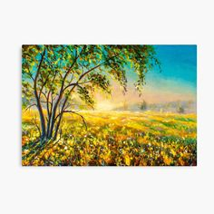 My Canvas, Canvas Prints, Art Prints, Original Paintings For Sale, Top Artists, Landscape Paintings, Vibrant Colors, My Arts, Tapestry