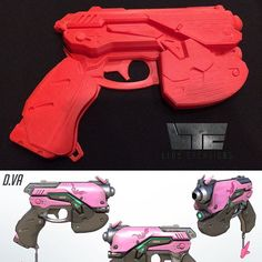 Overwatch hype, anyone?VA Pistol which will be cleaned up and casted in the next few weeks. Dv A, Cosplay Weapons, Prop Making, Clean Up, Overwatch, It Cast, Costumes, Toys, Instagram Posts