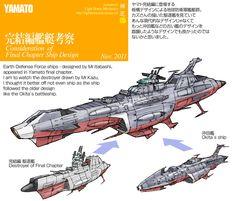 完結編艦艇デザインについて About Final Chapter Ship Design: LightHouse-メカニックス Sci Fi Anime, Manga Anime, Starship Concept, Space Battles, Air Fighter, Sci Fi Ships, Concept Ships, Star Trek Ships, Aircraft Design