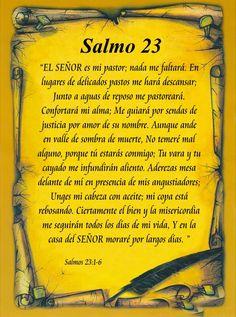 Dios nos bendiga Amen! Salmo 23