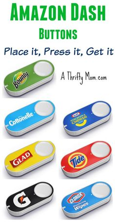 What do you think of these? Literally reorder what you need with the touch of a button. Interesting idea. Order fast because they are limited release. Amazon Dash Buttons - Place it, Press it, Get it