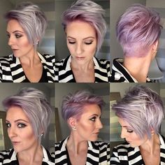 And the #pixie360 cut by @leahfittsbeautydesign color was a collaboration of… More