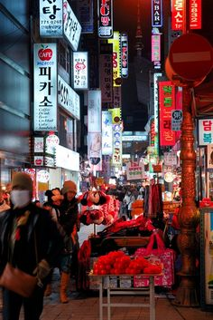 Myeondong | Seoul, The City of Morning Calm http://www.augustuscollection.com/seoul-city-morning-calm/