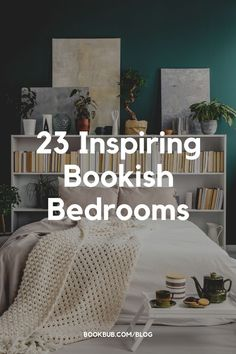 Looking for ways to organize and display your books at home? Start with these photos of bookish bedrooms. #books #bookworm #bedroomideas Home Bedroom, Bedrooms, Library Inspiration, Thriller Books, Books For Teens, Getting Out Of Bed, Fantasy Books, Book Worms, Book Lovers