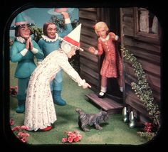 Scene from The Wizard Of Oz - View-Master Reel 1957