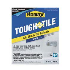 Homax Tough As Tile Gloss White Tub and Tile Refinishing Kit Indoor 26 oz. Tub Refinishing, Pipe Insulation, Bathtub Tile, Bath Tub, Glazed Ceramic Tile, Rv Makeover, Laminate Countertops, Remodeled Campers, Epoxy