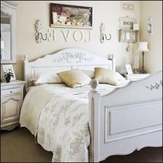 Bunny+deco+cottage+style | French Style Bedroom Decorating Ideas Part 53