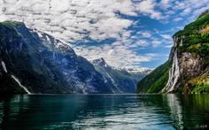 Into the Fjord - Geirangerfjord, Norway.