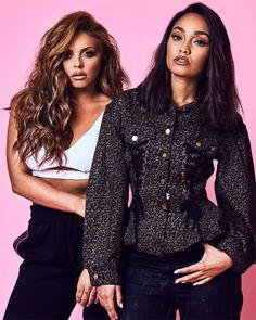 Little Mix (Leigh-Anne& Jesy) for tmrw magazine