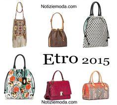 Borse Etro primavera estate 2015 moda donna