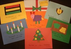 Holidays Around the World book for students to make. http://www.teacherspayteachers.com/Product/Winter-Holidays-Around-the-World-Theme-Book