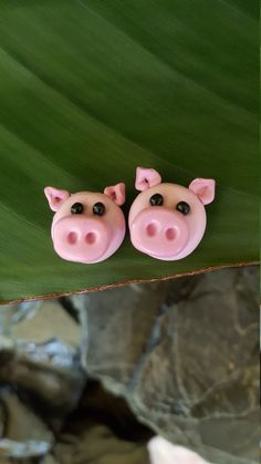 A personal favorite from my Etsy shop https://www.etsy.com/listing/470941515/pink-piggy-clay-earrings