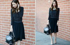 Fashion Essentials: Cardigan #theeverygirl | so cute! just like a little black dress lbd :)