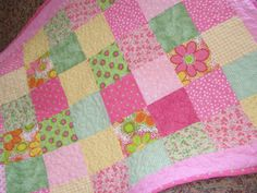 a special order baby girl quilt :)
